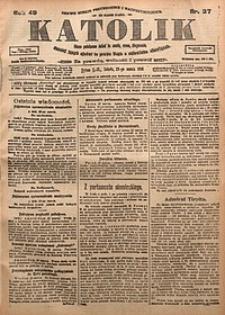 Katolik, 1916, R. 49, nr37