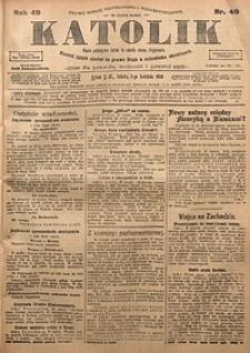 Katolik, 1916, R. 49, nr40