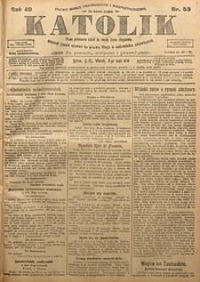 Katolik, 1916, R. 49, nr53