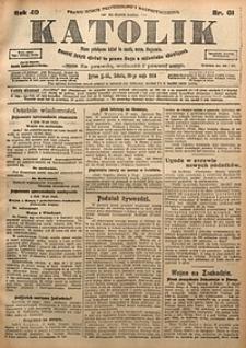 Katolik, 1916, R. 49, nr61