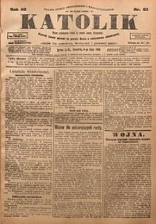 Katolik, 1916, R. 49, nr81