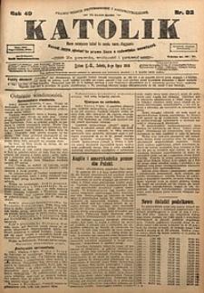 Katolik, 1916, R. 49, nr82
