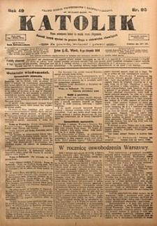 Katolik, 1916, R. 49, nr95