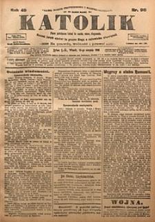 Katolik, 1916, R. 49, nr98