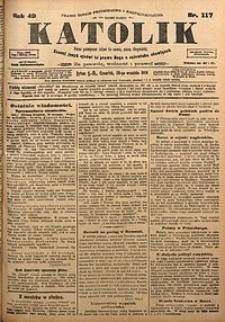 Katolik, 1916, R. 49, nr117