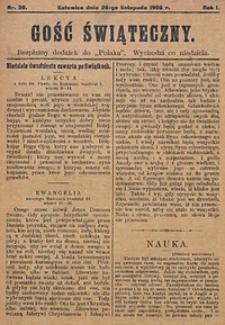Gość Świąteczny, 1905, R. 1, nr30