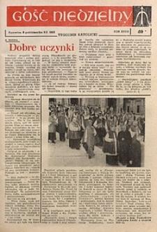 Gość Niedzielny, 1963, R. 36, nr40