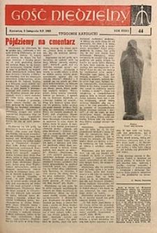 Gość Niedzielny, 1963, R. 32, nr44