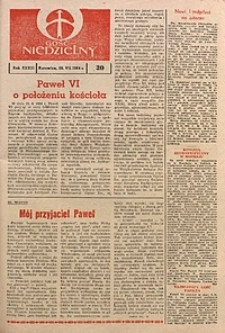 Gość Niedzielny, 1964, R. 37, nr30