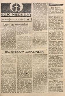 Gość Niedzielny, 1964, R. 33, nr41