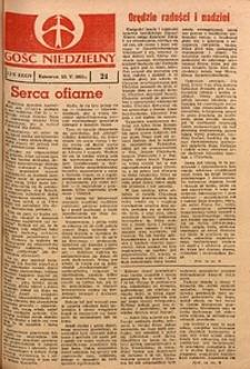Gość Niedzielny, 1965, R. 38, nr21
