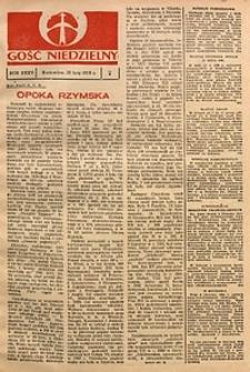 Gość Niedzielny, 1966, R. 35, nr7