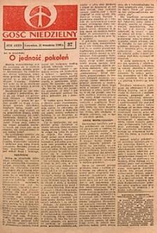 Gość Niedzielny, 1966, R. 39, nr37