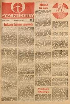 Gość Niedzielny, 1967, R. 36, nr15