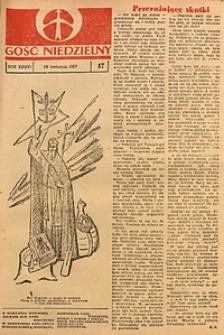 Gość Niedzielny, 1967, R. 40, nr17