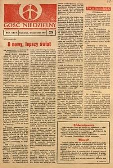 Gość Niedzielny, 1967, R. 36, nr25
