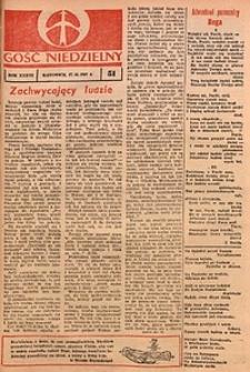 Gość Niedzielny, 1967, R. 40, nr51
