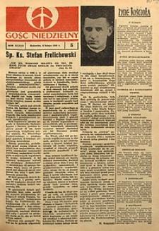Gość Niedzielny, 1968, R. 36 [właśc. 37], nr5