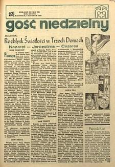 Gość Niedzielny, 1968, R. 37, nr22