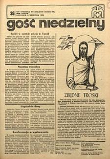 Gość Niedzielny, 1968, R. 41, nr36