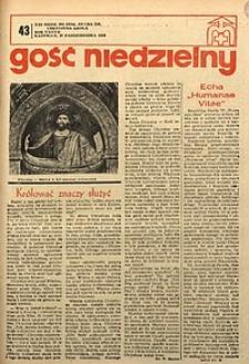 Gość Niedzielny, 1968, R. 37, nr43