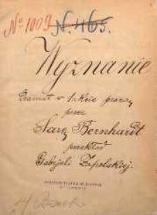 Wyznanie. Dramat w jednym akcie, prozą przez Sarę Bernhardt przekład Gabrjeli Zapolskiej. (Lwów dnia 21 września 1888 r.)
