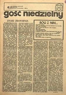 Gość Niedzielny, 1969, R. 42, nr4