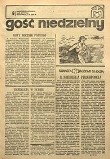 Gość Niedzielny, 1969, R. 38, nr6