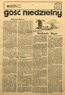 Gość Niedzielny, 1969, R. 38, nr10