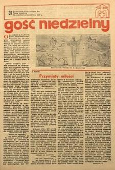 Gość Niedzielny, 1969, R. 38, nr31