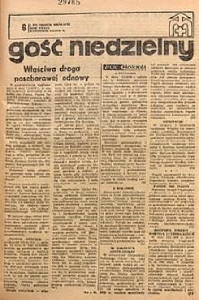 Gość Niedzielny, 1970, R. 43, nr6