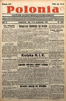 Polonia, 1932, R. 9, nr2883