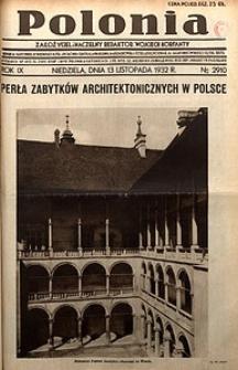 Polonia, 1932, R. 9, nr2910