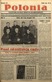 Polonia, 1932, R. 9, nr2922