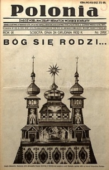 Polonia, 1932, R. 9, nr2950