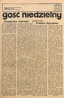 Gość Niedzielny, 1970, R. 39, nr34