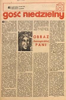 Gość Niedzielny, 1970, R. 39, nr41