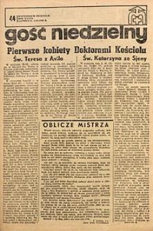 Gość Niedzielny, 1970, R. 43, nr44