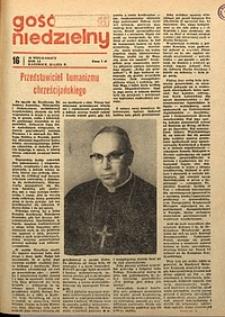Gość Niedzielny, 1974, R. 51, nr15