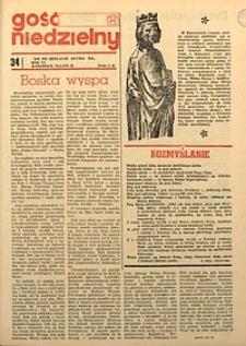 Gość Niedzielny, 1974, R. 51, nr34