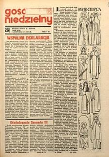 Gość Niedzielny, 1973, R.42, nr26