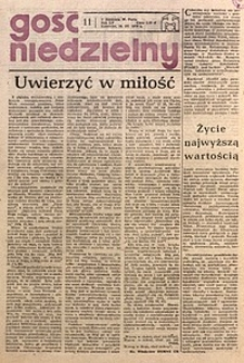 Gość Niedzielny, 1978, R. 51, nr11