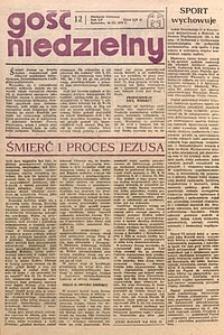 Gość Niedzielny, 1978, R. 51, nr12