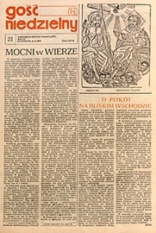 Gość Niedzielny, 1978, R. 55, nr21