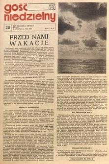 Gość Niedzielny, 1978, R. 51, nr28