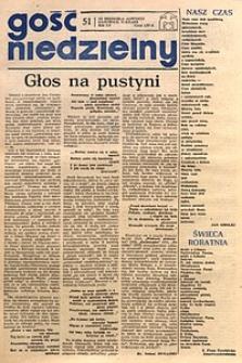 Gość Niedzielny, 1978, R. 55, nr51