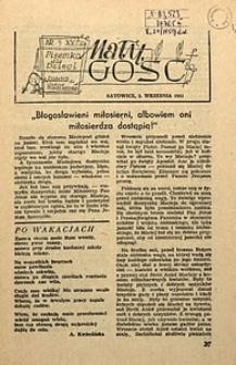 Mały Gość Niedzielny, 1951, R. 21, nr9
