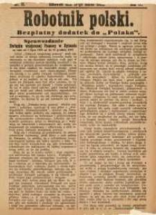 Robotnik Polski, 1908, nr11