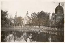 Opole, staw zamkowy