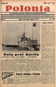 Polonia, 1932, R. 9, nr2705